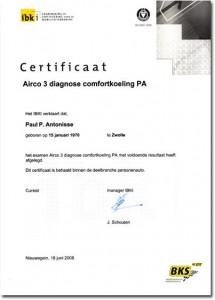 A3DC-certificaat
