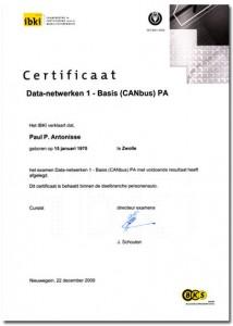CAN-certificaat